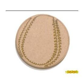 Silueta Pelota De Tenis 3,5x3,5cm