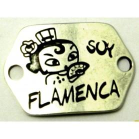 Chapa Soy Flamenca Ext. 26x33cm