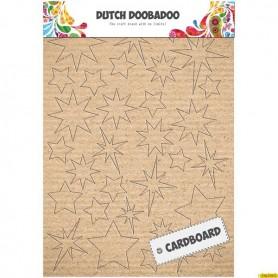 Siluetas Troqueladas Estrellas Carton