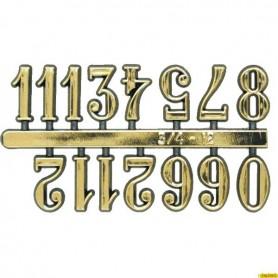 Pack Numeros Dorados para Reloj 11mm