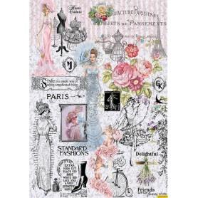 Papel de Arroz PARIS FASHIONS