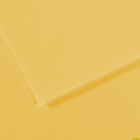 Papel Mi-Teinte CANARIO. 160 Gramos, medida 50x65cm