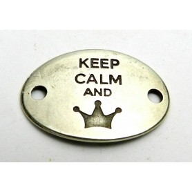 Chapa Keep Calm And 20x29mm