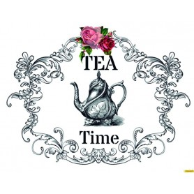 Transfers Cadence HOME DECOR Tea Time