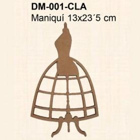 SILUETA MANIQUI 13x23,5CM