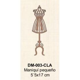 SILUETA MANIQUI PEQUEÑO 5,5x17CM