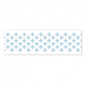 Washi Tape Anita y Su Mundo Cruz Azul Pastel 15mmX10m.