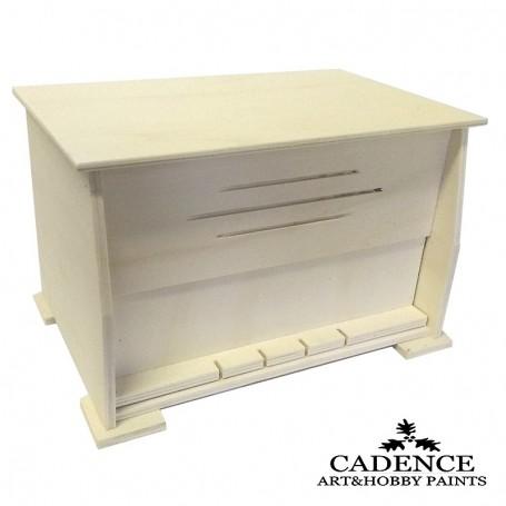 Caja Madera Radio Cadence 32,5x22x20,5 cm. Ref. 886035