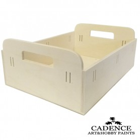Bandeja Pasa cintas Madera Cadence 30x21,5x11,5 cm. Ref. 886037