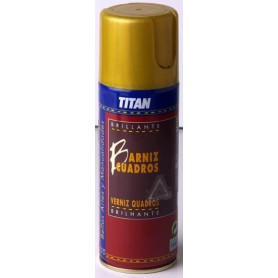 Barniz Spray Brillante 400 ml.