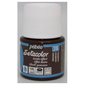 SETA EFECTO ANTE 45 ML.MARRON