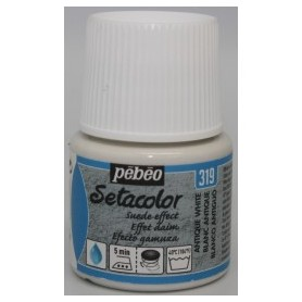 SETA EFECTO ANTE 45 ML.BLANCO ANTIGUO