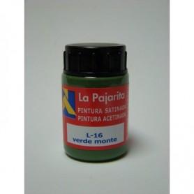 Acrilico La Pajarita VERDE MONTE  L-16