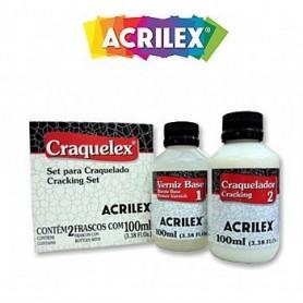 Craquelador ACRILEX 2 pasos 100 ml.