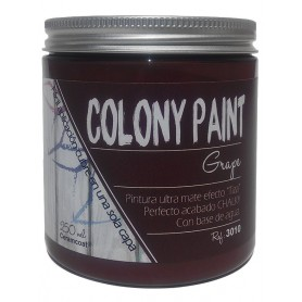 "Pintura al agua efecto grape Chalky ""Colony Paint"""
