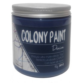 "Pintura al agua efecto Chalky denim ""Colony Paint"""
