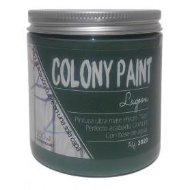 "Pintura al agua efecto Chalky lagoon ""Colony Paint"""