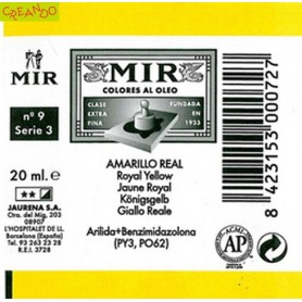 MIR  AMARILLO REAL 20 ml
