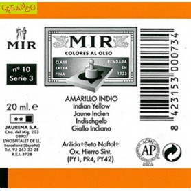 MIR  AMARILLO INDIO 20 ml