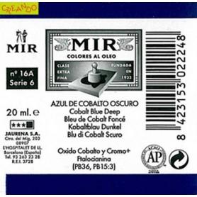 MIR  AZUL DE COBALTO OSCURO 20 ml