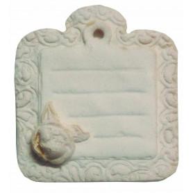 Mini Etiqueta Rosa Les Petits 3,5x4 cm Ref.177407