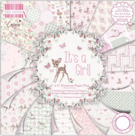 Colección It´s a Girl! First Edition 30x30 cm