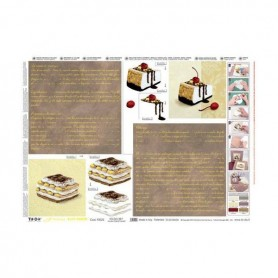 Papel TO-DO efecto metalico Pasteles y Escritura (50X70cm)