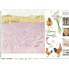 Papel TO-DO Campo de Lavanda (50X70)