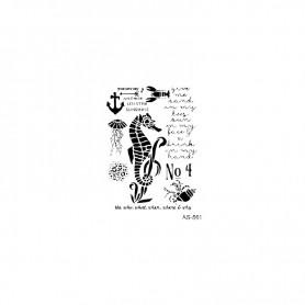 Plantilla Stencil Cadence Caballito De Mar 21x30cm