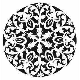 Stencil Home Decor Cadence Mandala II 45x45cm