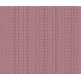 Tela Patchwork Makower Up 100% Algodón Malva Rosaceo de rayas 110cm de ancho. Se vende de 10 en 10 CM.