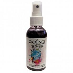 Pintura al agua textil en Spray Cadence Berenjena