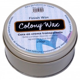 Cera Colony Finish Wax Incolora 250gr