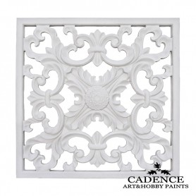 Placa Decorativa 3 Resina Colección Cadence, Medidas Tamaño: 38x38cm Grosor: 1cm