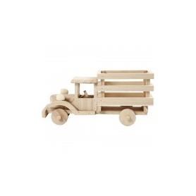 Camion Madera 11x22x7,5cm