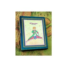 El Principito, Cuaderno Tapa Blanda Grande Azul