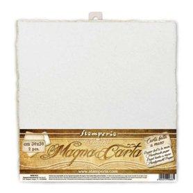 Pack 2 Magna Carta a Mano 30x30cm Blanco