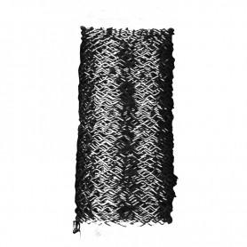 Bobina Alambre Zig Zag 0,3mm negro
