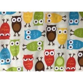 Tela algodon patchwork Buhos Colores  Venta de 10 en 10cm