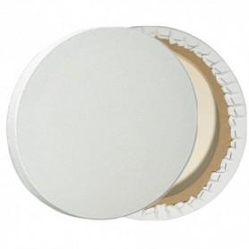 Lienzo de 20cm de diametro