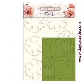 Flores de Foamiran Pinsettia Clavel
