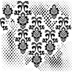 Stencil Grunge Cadence 45x45cm