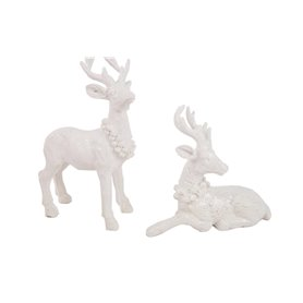 Pareja de Ciervos de Navidad