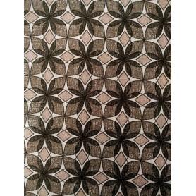 Tela algodon patchwork estampado geometrico negro y gris.  Venta de 10 en 10cm