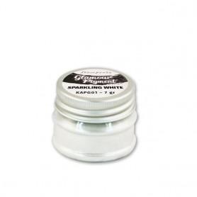 Glamour Pigment Sparkling White Stamperia