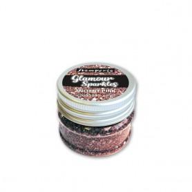 Glamour Sparkles Rosa Antiguo Stamperia