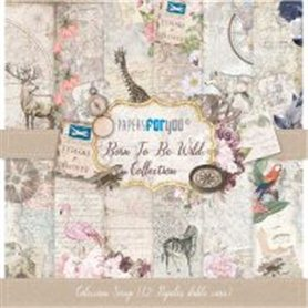 Coleccion Born To Be Wild Scrapbooking