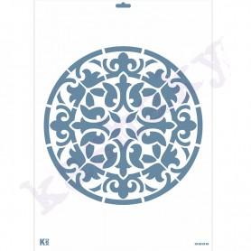 "Plantilla Stencil DIN A3 ""Fondo Mandala"""