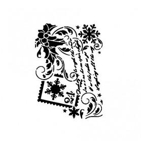 Plantilla Stencil Cadence Escrito Navidad 21x30cm