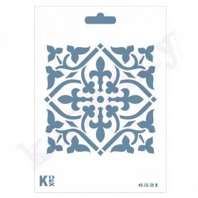 """Plantilla Stencil DIN A6 """"Azulejos"""""""